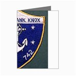 USS Frank Knox Emb Mini Greeting Card