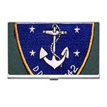 USS Frank Knox Emb Business Card Holder