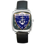 USS Frank Knox Emb Square Metal Watch