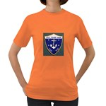 USS Frank Knox Emb Women s Dark T-Shirt