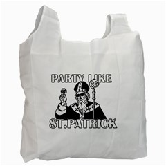 St  Patricks Day  Recycle Bag (one Side) by Valentinaart