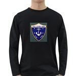 USS Frank Knox Emb Long Sleeve Dark T-Shirt