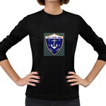USS Frank Knox Emb Women s Long Sleeve Dark T-Shirt