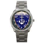 USS Frank Knox Emb Sport Metal Watch