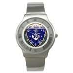 USS Frank Knox Emb Stainless Steel Watch
