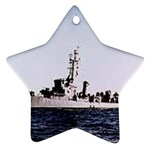 USS Huse Pic Ornament (Star)