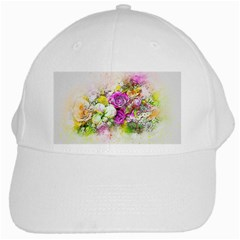 Flowers Bouquet Art Nature White Cap