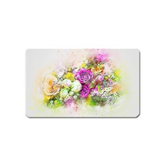 Flowers Bouquet Art Nature Magnet (name Card)