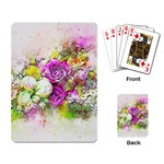 Flowers Bouquet Art Nature Playing Card Back