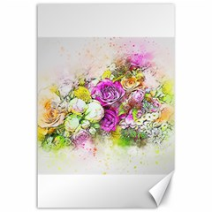 Flowers Bouquet Art Nature Canvas 24  X 36