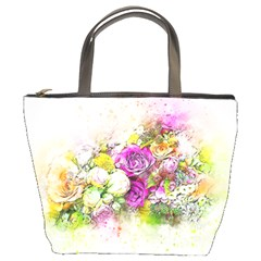 Flowers Bouquet Art Nature Bucket Bags