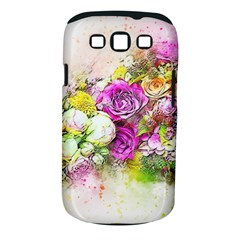 Flowers Bouquet Art Nature Samsung Galaxy S Iii Classic Hardshell Case (pc+silicone)