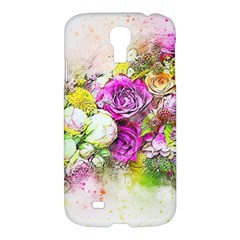 Flowers Bouquet Art Nature Samsung Galaxy S4 I9500/i9505 Hardshell Case