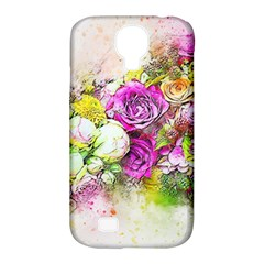Flowers Bouquet Art Nature Samsung Galaxy S4 Classic Hardshell Case (pc+silicone)