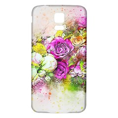 Flowers Bouquet Art Nature Samsung Galaxy S5 Back Case (white)