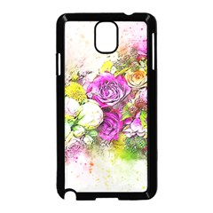 Flowers Bouquet Art Nature Samsung Galaxy Note 3 Neo Hardshell Case (black)