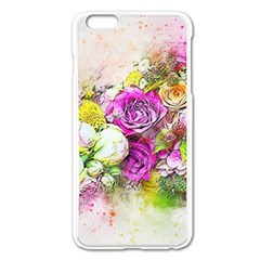 Flowers Bouquet Art Nature Apple Iphone 6 Plus/6s Plus Enamel White Case