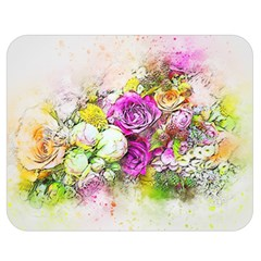 Flowers Bouquet Art Nature Double Sided Flano Blanket (medium)