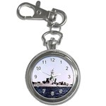 USS Huse Pic Key Chain Watch
