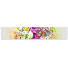 Flowers Bouquet Art Nature Large Flano Scarf