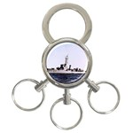 USS Huse Pic 3-Ring Key Chain