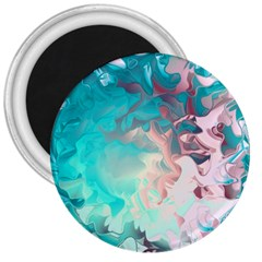 Background Art Abstract Watercolor 3  Magnets
