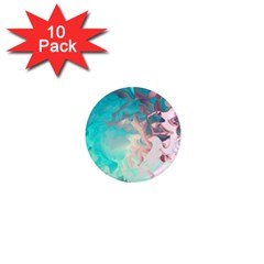 Background Art Abstract Watercolor 1  Mini Magnet (10 Pack)