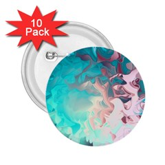 Background Art Abstract Watercolor 2 25  Buttons (10 Pack)