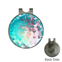 Background Art Abstract Watercolor Hat Clips With Golf Markers
