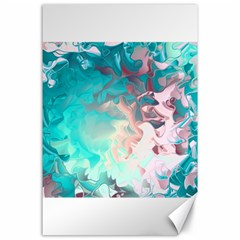Background Art Abstract Watercolor Canvas 24  X 36