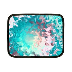 Background Art Abstract Watercolor Netbook Case (small)