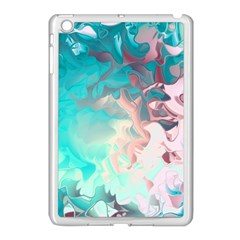 Background Art Abstract Watercolor Apple Ipad Mini Case (white)