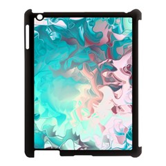 Background Art Abstract Watercolor Apple Ipad 3/4 Case (black)