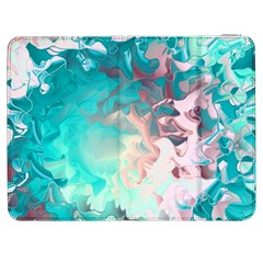 Background Art Abstract Watercolor Samsung Galaxy Tab 7  P1000 Flip Case by Nexatart