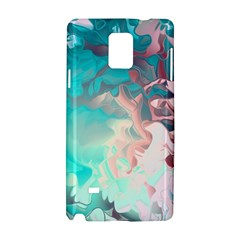 Background Art Abstract Watercolor Samsung Galaxy Note 4 Hardshell Case by Nexatart