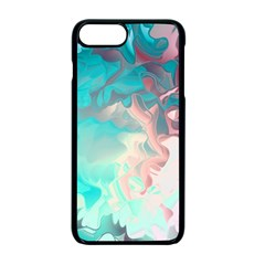 Background Art Abstract Watercolor Apple Iphone 7 Plus Seamless Case (black)