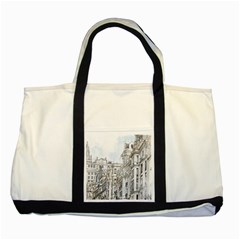 Architecture Building Design Two Tone Tote Bag