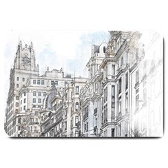 Architecture Building Design Large Doormat