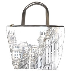 Architecture Building Design Bucket Bags by Nexatart
