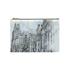 Architecture Building Design Cosmetic Bag (medium)