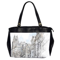 Architecture Building Design Office Handbags (2 Sides)