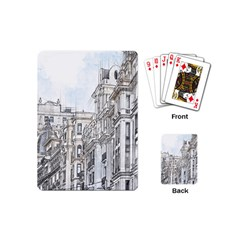 Architecture Building Design Playing Cards (mini)