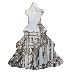 Architecture Building Design Christmas Tree Ornament (two Sides)