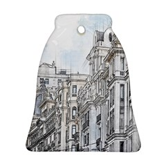 Architecture Building Design Bell Ornament (two Sides)