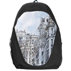 Architecture Building Design Backpack Bag