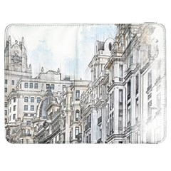 Architecture Building Design Samsung Galaxy Tab 7  P1000 Flip Case