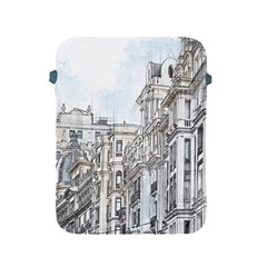 Architecture Building Design Apple Ipad 2/3/4 Protective Soft Cases