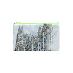 Architecture Building Design Cosmetic Bag (xs)