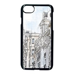Architecture Building Design Apple Iphone 7 Seamless Case (black)