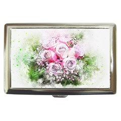 Flowers Bouquet Art Nature Cigarette Money Cases
